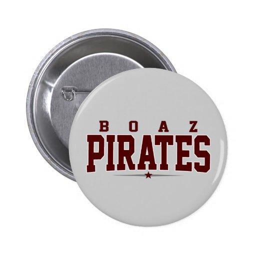 High School secundaria de Boaz; Piratas Pins