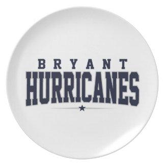 High School secundaria de Bryant; Huracanes Plato