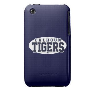 High School secundaria de Calhoun; Tigres Case-Mate iPhone 3 Fundas