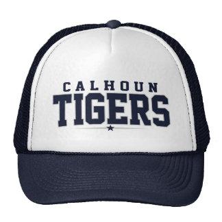 High School secundaria de Calhoun; Tigres Gorros Bordados