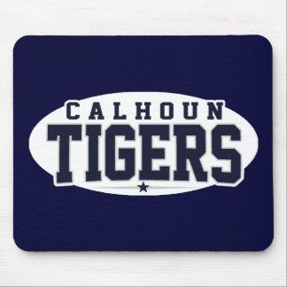 High School secundaria de Calhoun; Tigres Alfombrillas De Ratón