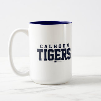 High School secundaria de Calhoun; Tigres Taza Dos Tonos