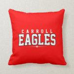 High School secundaria de Carroll; Eagles Cojines