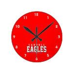 High School secundaria de Carroll; Eagles Reloj