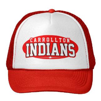 High School secundaria de Carrollton; Indios Gorros Bordados