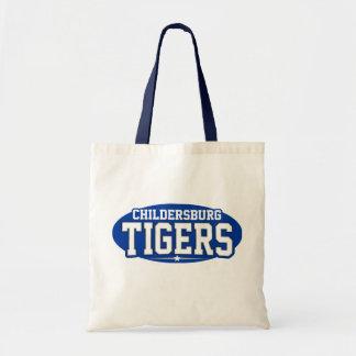 High School secundaria de Childersburg; Tigres Bolsas