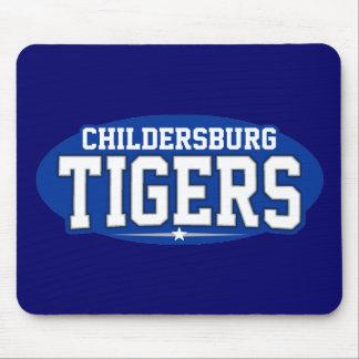 High School secundaria de Childersburg; Tigres Alfombrilla De Raton