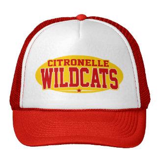 High School secundaria de Citronelle; Gatos montes Gorra