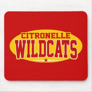 High School secundaria de Citronelle; Gatos montes Alfombrillas De Ratón