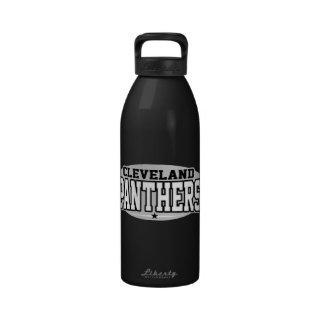 High School secundaria de Cleveland; Panteras Botellas De Beber