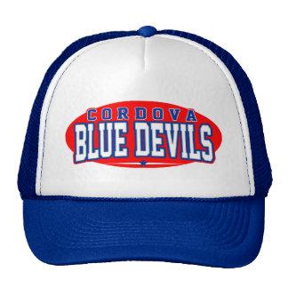 High School secundaria de Cordova Diablos azules Gorro De Camionero