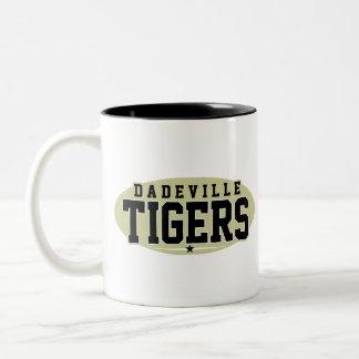 High School secundaria de Dadeville; Tigres Taza Dos Tonos