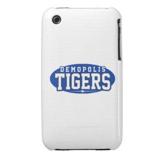 High School secundaria de Demopolis; Tigres Case-Mate iPhone 3 Cobertura