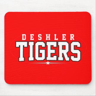 High School secundaria de Deshler; Tigres Tapete De Ratón