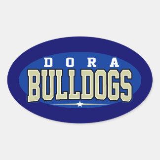 High School secundaria de Dora; Dogos Colcomanias Ovaladas Personalizadas