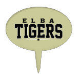 High School secundaria de Elba; Tigres Palillos De Tarta