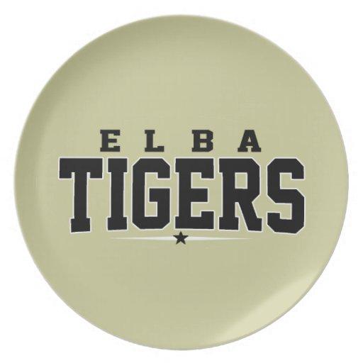 High School secundaria de Elba; Tigres Platos De Comidas