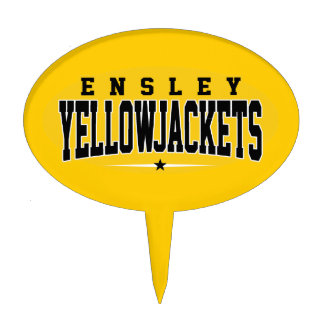 High School secundaria de Ensley; Chaquetas amaril Figuras De Tarta