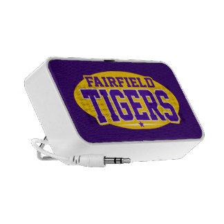 High School secundaria de Fairfield; Tigres Altavoz De Viaje