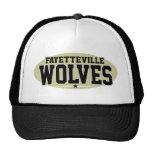 High School secundaria de Fayetteville; Lobos Gorra