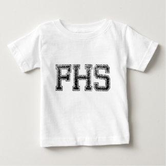 High School secundaria de FHS - vintage, apenado Remera