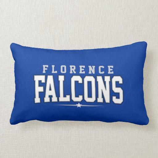 High School secundaria de Florencia; Falcons Cojin