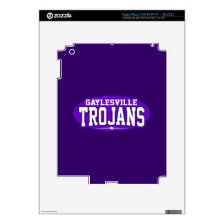 High School secundaria de Gaylesville; Trojan Pegatina Skin Para iPad 3