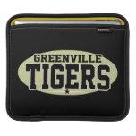 High School secundaria de Greenville; Tigres Fundas Para iPads