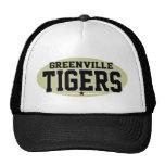 High School secundaria de Greenville; Tigres Gorras