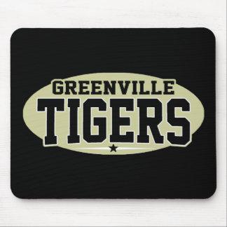 High School secundaria de Greenville; Tigres Mousepads