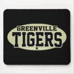 High School secundaria de Greenville; Tigres Alfombrilla De Ratones