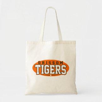 High School secundaria de Grissom; Tigres Bolsas De Mano