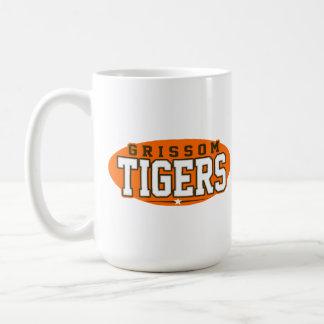 High School secundaria de Grissom; Tigres Taza Básica Blanca