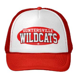 High School secundaria de Guntersville; Gatos mont Gorros