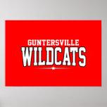 High School secundaria de Guntersville; Gatos mont Impresiones