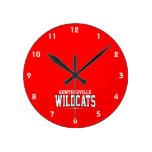 High School secundaria de Guntersville; Gatos mont Reloj
