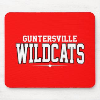 High School secundaria de Guntersville; Gatos mont Alfombrillas De Ratón
