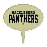 High School secundaria de Hackleburg; Panteras Figura Para Tarta