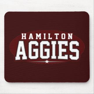 High School secundaria de Hamilton; Aggies Tapete De Ratón