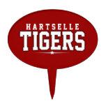 High School secundaria de Hartselle; Tigres Figuras De Tarta