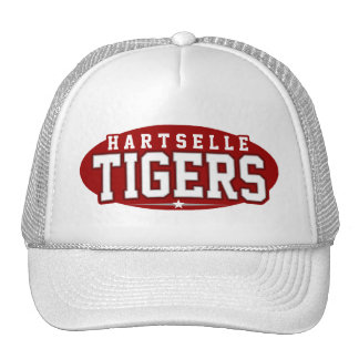High School secundaria de Hartselle; Tigres Gorros Bordados