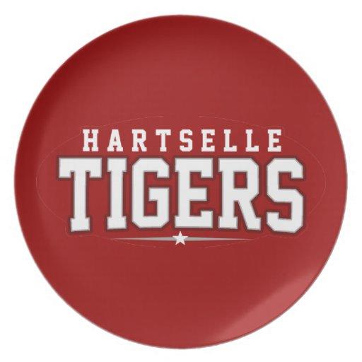 High School secundaria de Hartselle; Tigres Platos