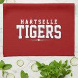 High School secundaria de Hartselle; Tigres Toalla
