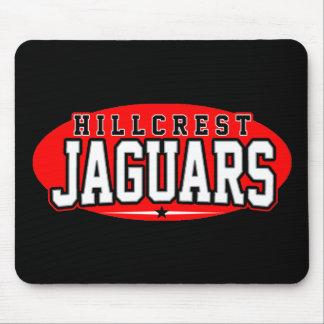 High School secundaria de Hillcrest; Jaguares Alfombrilla De Ratón