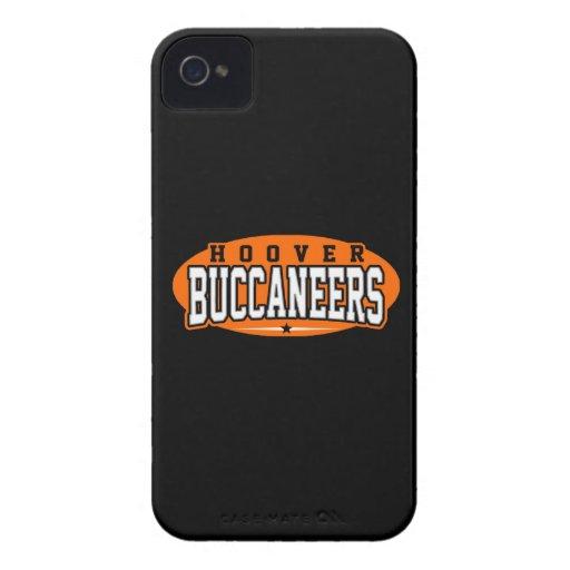 High School secundaria de Hoover; Buccaneers Funda Para iPhone 4 De Case-Mate