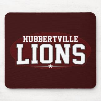 High School secundaria de Hubbertville; Leones Alfombrilla De Raton