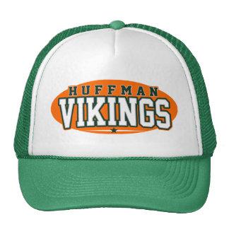High School secundaria de Huffman; Vikingos Gorras De Camionero
