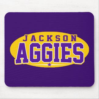 High School secundaria de Jackson; Aggies Tapetes De Ratón