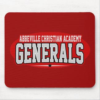 High School secundaria de la academia cristiana de Mouse Pads