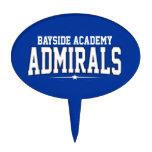 High School secundaria de la academia de Bayside;  Decoración De Tarta